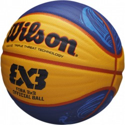 WILSON WTB0533XB OFICIĀLA FIBA 3X3 STRĪBOLA SACENSĪBU BUMBA
